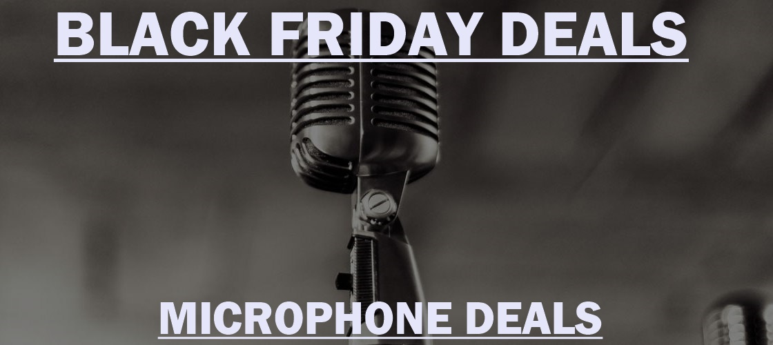 Yeti Microphone Black Friday 2020 and Cyber Monday Deals