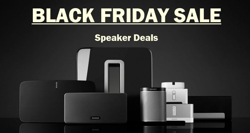 Sonos Play 1 Black Friday & Cyber Monday Deals 2018