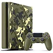 PlayStation 4 Slim 1TB Limited Edition Console - Call of Duty WWII Bundle [Discontinued