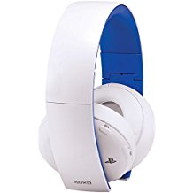 PlayStation Gold Wireless Stereo Headset: Limited Edition - White