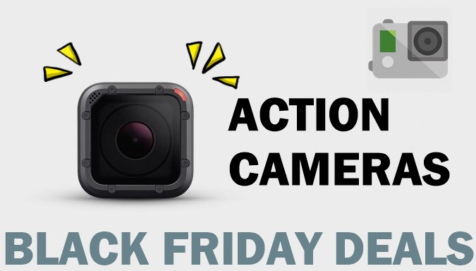 GoPro HERO4 Black Friday & Cyber Monday Deals 2018