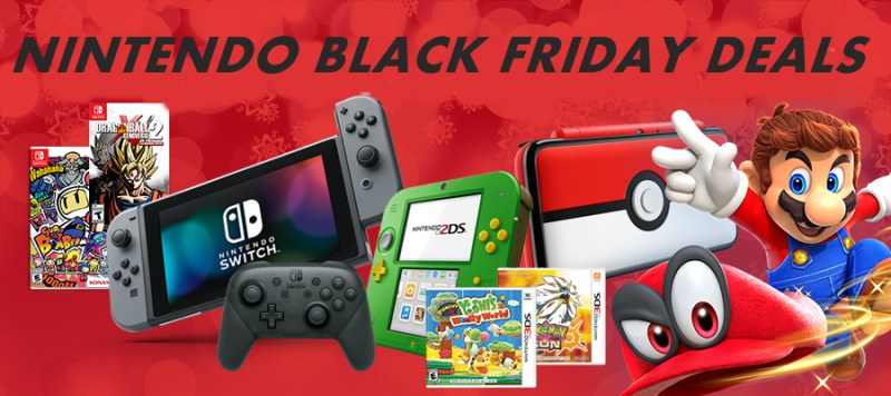 Nintendo Black Friday & Cyber Monday Sales & Deals