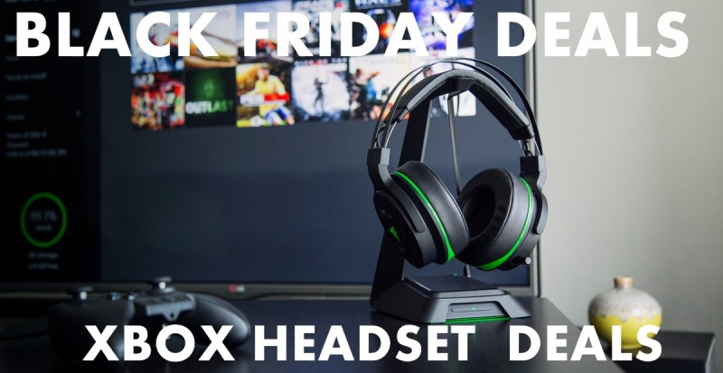 Xbox Headset Black Friday & Cyber Monday Sales & Deals