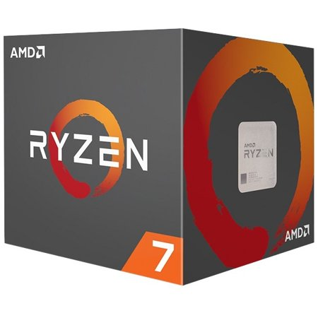 AMD Ryzen 7 1700 Processor with Wraith Spire LED Cooler (YD1700BBAEBOX)