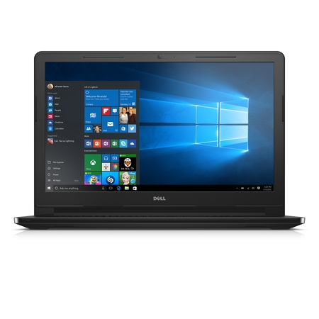Dell Inspiron 15 3000 Series 15.6 Inch Laptop (Intel Core i3 5005U, 4 GB RAM, 500 GB HDD, Black, Window 10