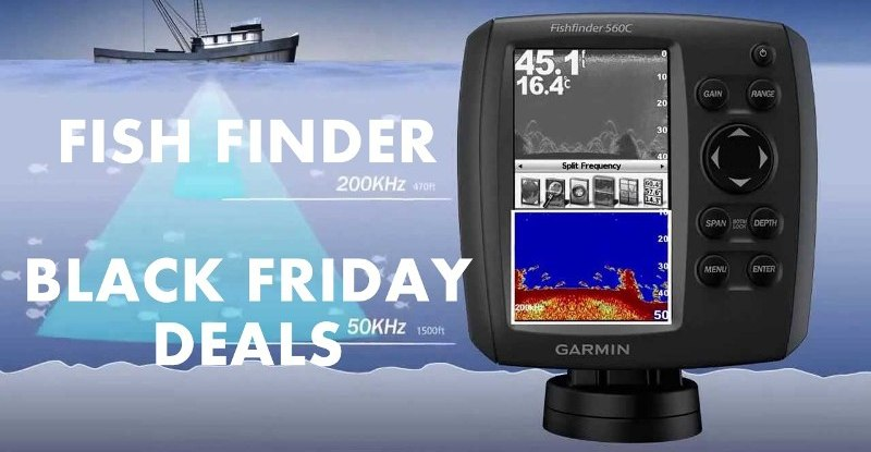 fish finder black friday & cyber monday deals