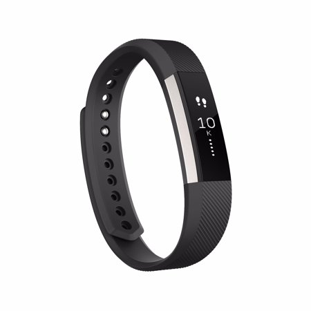 Fitbit Alta Fitness Tracker, Silver/Teal, Small (US Version)