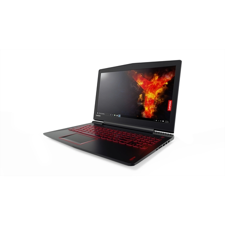 "Lenovo Legion Y520 Gaming Laptop - Core i7-7700HQ, 16GB RAM, 2TB HDD + 256GB SSD, 1050Ti 4GB, 15.6"" Full HD"