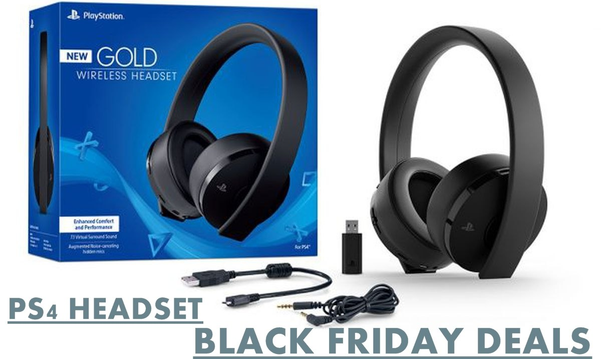 ps4 haedset black friday & cyber monday deals