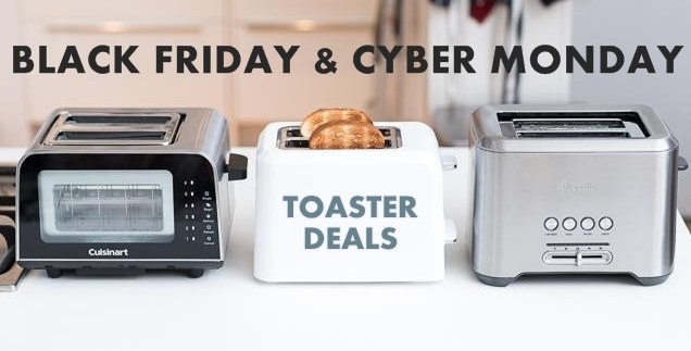toaster black friday cyber monday deals