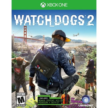 10 Best Watch Dogs 2 Xbox One Black Friday & Cyber Monday Deals   2019 2