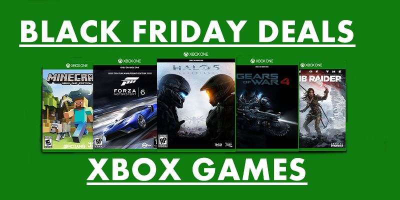 xbox games black friday & cyber monday deals