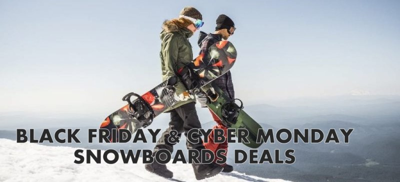 20 Best Snowboards Black Friday Deals & Sales [2020] 1