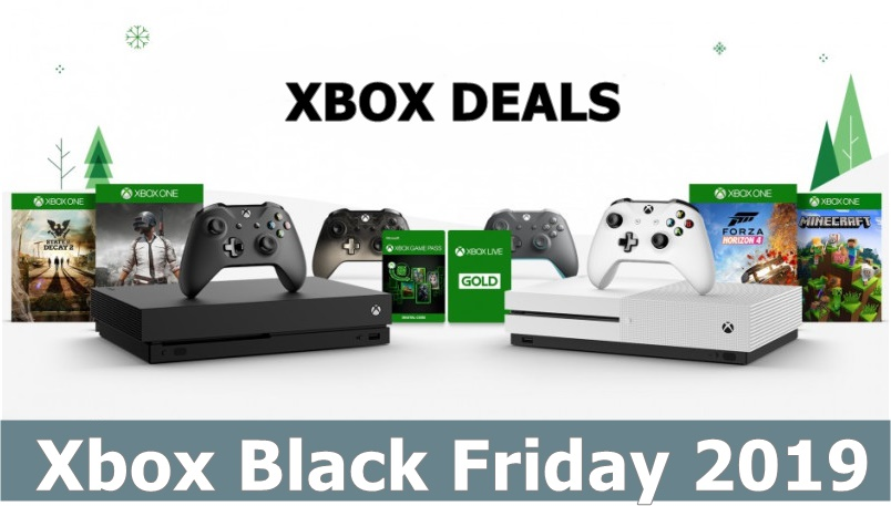 Best Xbox One Black Friday and Cyber Monday Sale 2019 & Deals