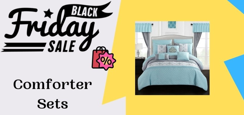 20 Best Comforter Sets Black Friday Cyber Monday Deals 2020 Up To 47 Off