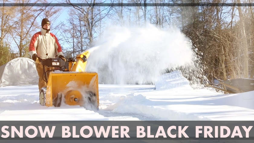 Snow Blower Black Friday Deals