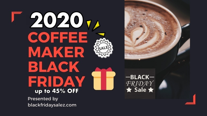 Best Hamilton Beach Coffee Maker Black Friday and Cyber Monday Sale 2020