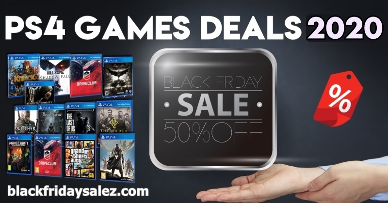 PS4 GAMES BLACK FRIDAY AND CYBER MONDAY DEALS 2020 2