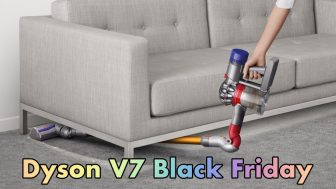Dyson V7 Black Friday and Cyber Monday Vacuum Cleaner Deals 2021